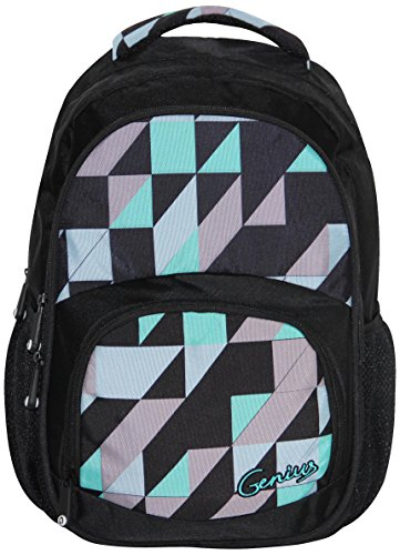 Genius Genius Black Backpack(GN Back Pack 1406_BLK)