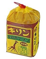 小笠原製粉 キリンラーメン みそ味 6食入り