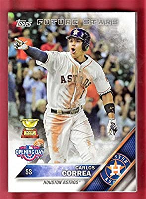 HOUSTON ASTROS 2016 Topps OPENING DAY team set 9 cards