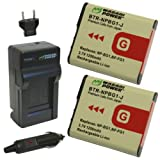 Wasabi Power Battery and Charger Kit for Sony NP-BG1, NP-FG1 and Cyber-shot DSC-H3, DSC-H7, DSC-H9, DSC-H10, DSC-H20, DSC-H50, DSC-H55, DSC-H70