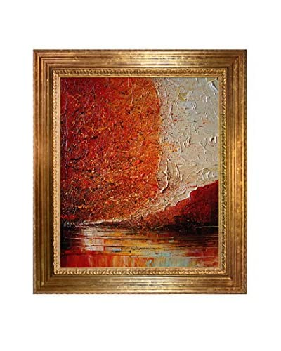 "Justyna Kopania ""River II"" Framed Giclée on Canvas"