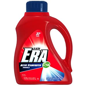 Era 2x Ultra Active Stainfighter Formula Regular Liquid Detergent 32 Loads