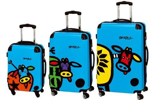 3-teiliges Trolley-Kofferset 3er-Set Trolley