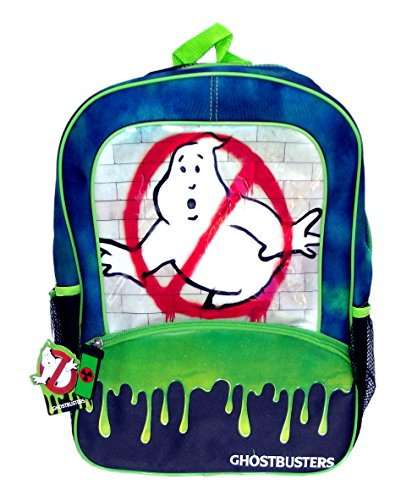 New for 2016 - Ghostbusters No Ghost Slimer 16 Inch Backpack