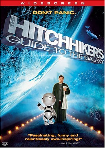 Cover art for  The Hitchhiker's Guide to the Galaxy (Widescreen Edition)