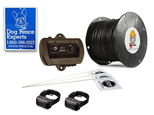 Dogtra Gold Rechargeable In-Ground Dog Fence - 3000 Feet of 16 Gauge Upgraded eXtreme Wire dog fence wireless containment system pet wire free fencing kd661