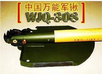 十徳ナイフレベルの万能さを誇る中国の多目的軍用シャベル「WJQ-308」