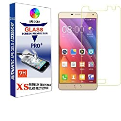 APS GOLD 2.5D 0.3mm Pro+ Tempered Glass Screen Protector For Gionee Marathon M5 Plus