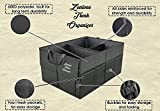 Car Trunk Organizer| Premium Car Organizer| 9 Spacious Compartments| Heavy Duty Collapsible/Foldable Cargo Container for Groceries, Tools & More| Ideal for Cars, Trucks, SUVs By Zentone