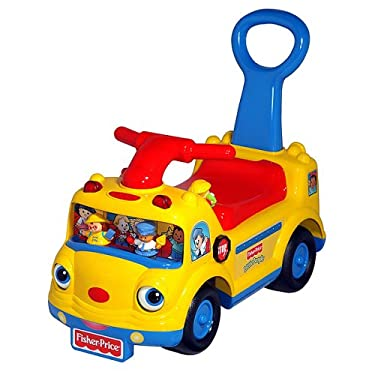 Fisher Price Small People School Bus Ride On Wenglish Generic Sound Chip
