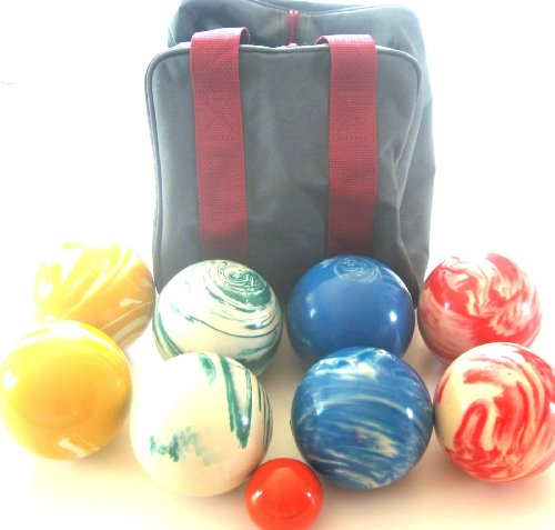 Premium Quality EPCO Tournament Marbleized Bocce Set – 107mm. Bag included. [… online kaufen