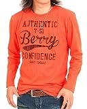 (エムシー)MC メンズロングTシャツ 長袖ティーシャツ アメカジ カレッジロゴ ロゴT ロンT