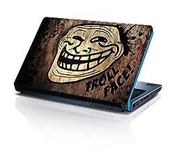 alterEgo Vinyl Laptop Skin- 10.1 IN, Troll Face