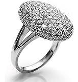 Twilight Bella Ring Ringe Verlobungsring silber Strass Kristall Damen Schmuck