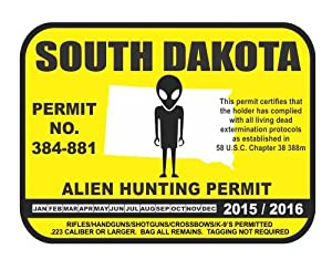 South dakota alien hunting permit license for South dakota out of state fishing license
