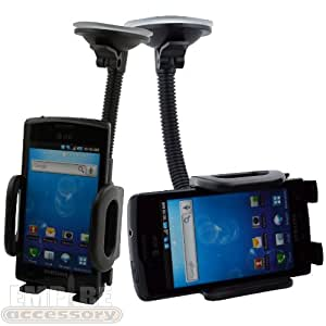 Captivate (At&t) Car Windshield Dash Mount Cradle Holder Kit Galaxy S