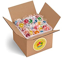 Candy Creek Fruit Lollipops, 5 lb