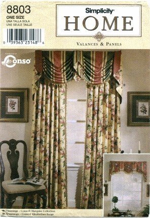 Sewing Balloon Valances - Sewing Curtain Valances - Valance Patterns