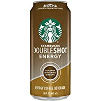 12-Pack Starbucks Doubleshot Energy Coffee, Mocha, 15 Ounce Cans