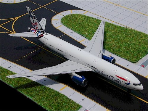 Gemini Jet Boeing 777-200 British Airways Model Plane
