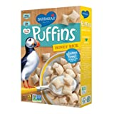 Barbara's Bakery Puffins Cereal, Honey Rice, 10-Ounce Boxes (Pack of 6) ~ Barbara's Bakery