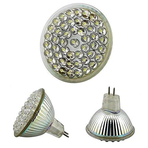 Everydaysource® 2 Pack Of Mr 16 Light Bulb, White [48Led 2.4W]