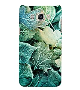 PRINTVISA Abstract Leaves pattern Case Cover for SAMSUNG GALAXY J5 (2016 EDITION)