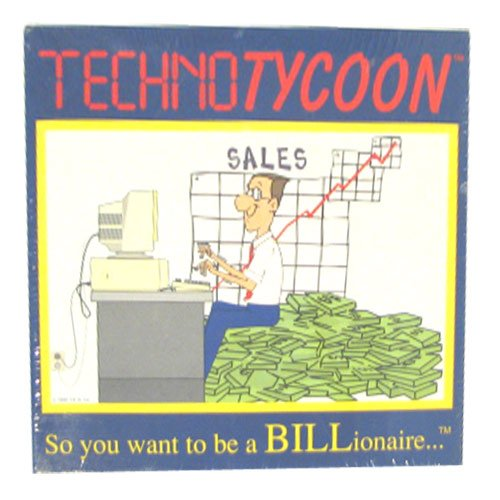 TechnoTycoon Techno Tycoon Board Game, So you want to be a billionaire...