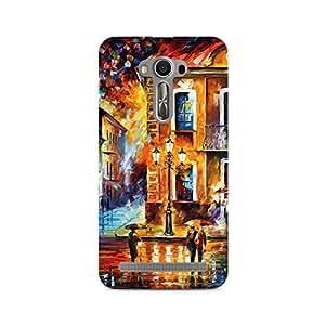 Mobicture Pattern Premium Designer Mobile Back Case Cover For Asus Zenfone Selfie