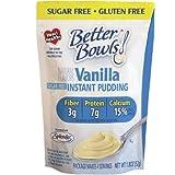 Better Bowls Sugar Free, Vanilla Pudding, 1.8 Ounce (Pack of 6) ~ Better Bowls
