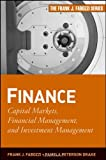 img - for Finance: Capital Markets, Financial Management, and Investment Management (Frank J. Fabozzi Series) book / textbook / text book