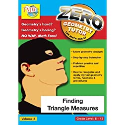 Zero The Math Hero - Finding Triangle Measures