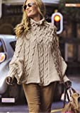 Womens Pocho Knitting Pattern: To fit Small to Medium and Medium to Large: Materials Bergere De France Magic (Woman's Weekly Magazine Pull Out Pattern)