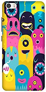 The Racoon Lean Monster Oye! hard plastic printed back case / cover for Xiaomi Mi 5
