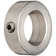 Ruland FSR Set Screw Beam Coupling, Polished Aluminum, Inch
