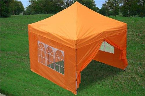 10x10 Pop up Canopy Party Tent Gazebo Ez Orange & Party Tents For Sale: 10x10 Pop up Canopy Party Tent Gazebo Ez ...