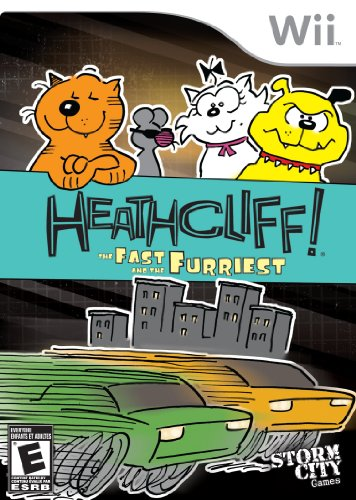 Heathcliff: The Fast & the Furriest - Nintendo Wii - 1