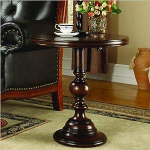 "Amazon.com - Hooker Furniture Seven Seas 24"" Round Pedestal Accent"