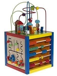 5 way bead maze toys