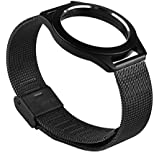 Kissmart® Stainless Steel Wrist Band Bracelet Strap Watch Band for Misfit Shine Activity and Sleep Monitor Does Not Fit for Misfit Flash Monitor (Stainless Black)