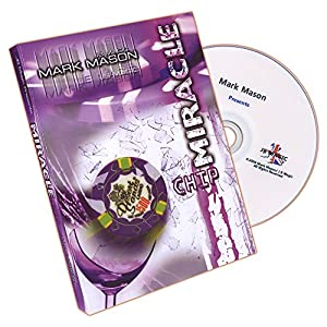 MMS Miracle Chip (US Quarter and Poker Chip) by Mark Mason and JB Magic - DVD