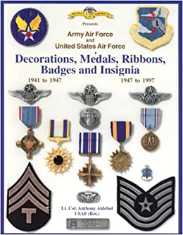 Army air force and united states air force decorations for Air force awards and decoration