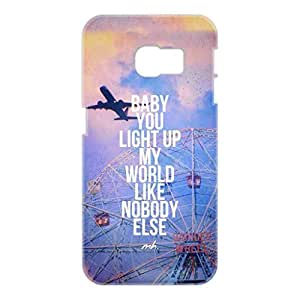 a AND b Designer Printed Mobile Back Cover / Back Case For Samsung Galaxy S6 Edge (SG_S6Edge_3D_1362)