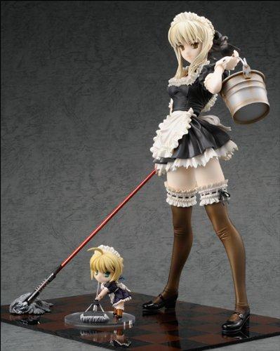 Fate/hollow ataraxia Saber Alter セイバーオルタ メイドver フィギュア