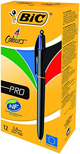 bic-4-colourspro-penna-a-scatto-punta-media-da-1-mm-fusto-lucido-metallizzato-4-colori-di-inchiostro