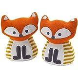 Lolli Living Bookend Friends, Fox Knit