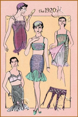 Art Poster, The Flapper's Girdle - 18.75 x 27.5