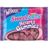 Wonka Sweetarts Valentine's Gummy Hearts, 11-Ounce Bags (Pack of 6)