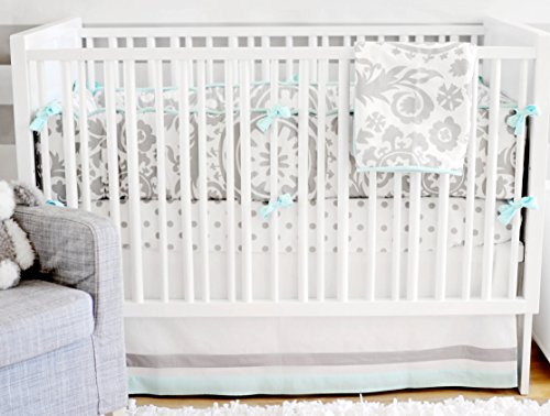 New Arrivals 4 Piece Crib Bed Set, Wink