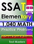 SSAT Elementary - 1,040 Math Practice...